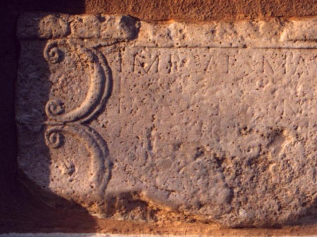 Rímsky kameň z r. 229 po Kr.